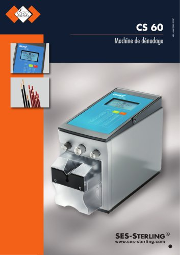 Machine de dénudage CS60