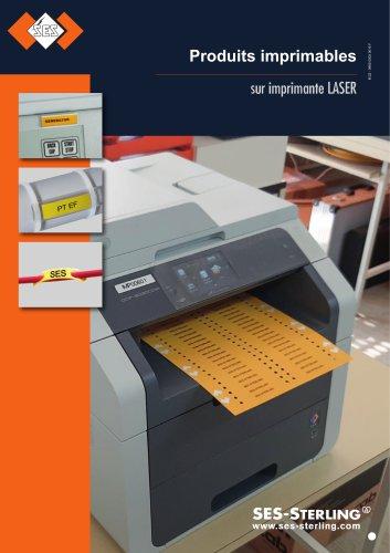 Produits imprimables sur imprimantes laser
