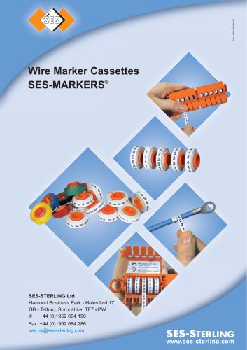 Wire Marker Cassettes SES-MARKERS