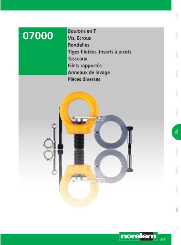 Éléments standard mécaniques - Éléments de fixation