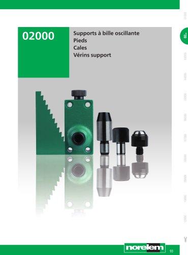 Éléments standard mécaniques - Supports - Appuis - Vérins