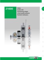Linear guide systems - Position indicators