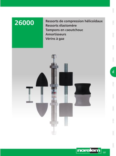 Tampons - Amortisseurs - Vérins à gaz