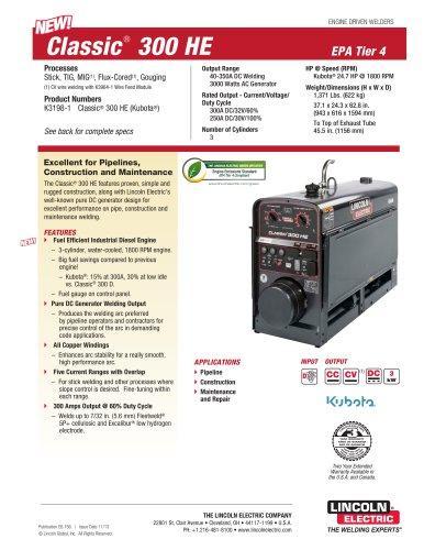 Classic® 300 HE EPA