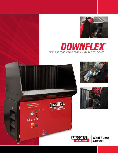 Downflex ® Dual Pur Pose workbench & extraction table
