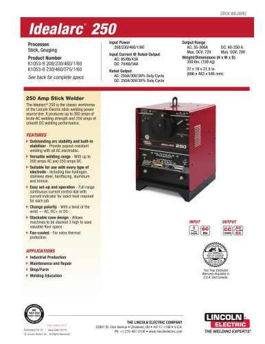 Idealarc® 250