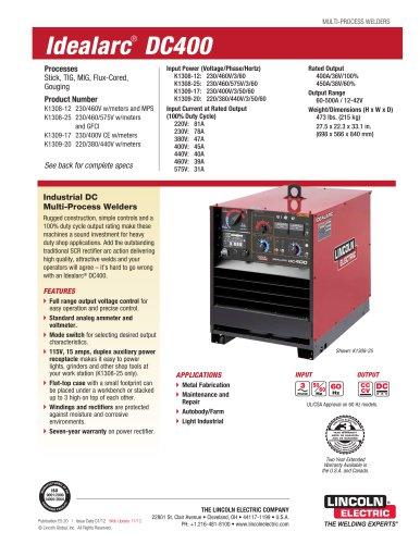 Idealarc® DC400