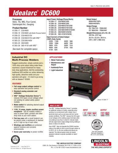 Idealarc® DC600
