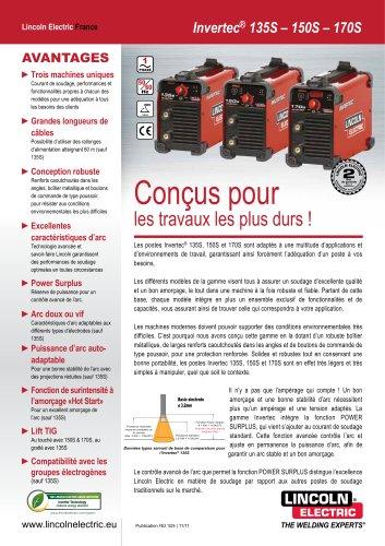 INVERTEC 135S-150S-170S