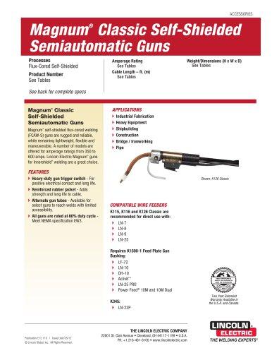Magnum® Classic Self-Shielded Semiautomatic Guns
