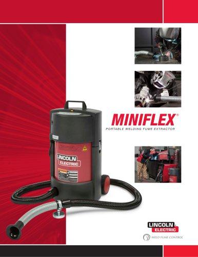 MINIFLEX ® PORTABLE WELDING FUME EXTRACTOR