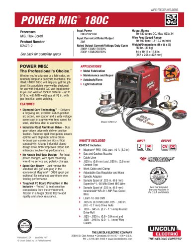 POWER MIG® 180C