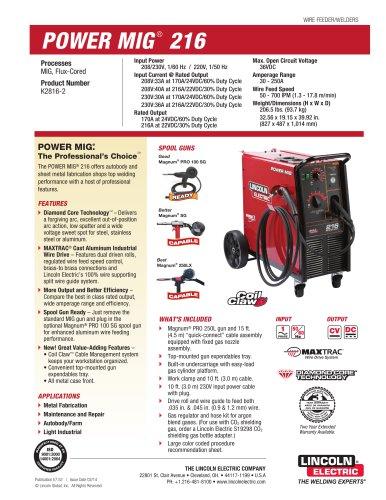 POWER MIG® 216 MIG Welder