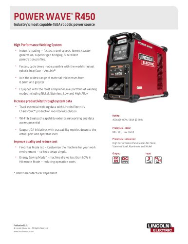 POWER WAVE® R450