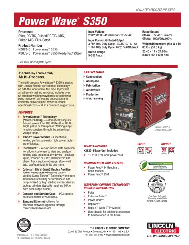 Power Wave® S350