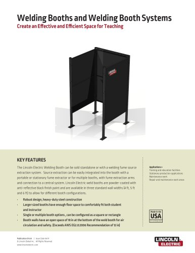Welding Booths and Welding Booth Systems