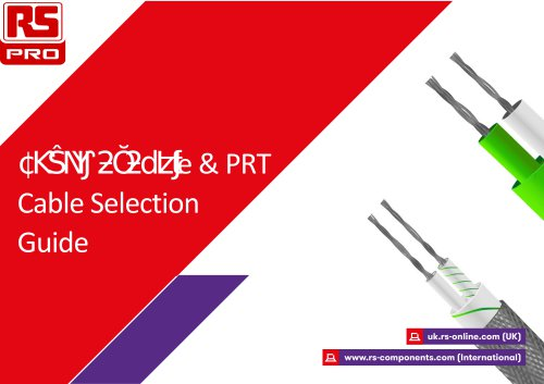 Thermocouple Cable Selection Guide