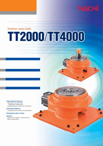 Endless rotary table TT2000/TT4000