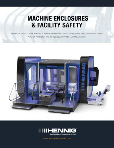 MACHINE ENCLOSURES & FACILITY SAFETY