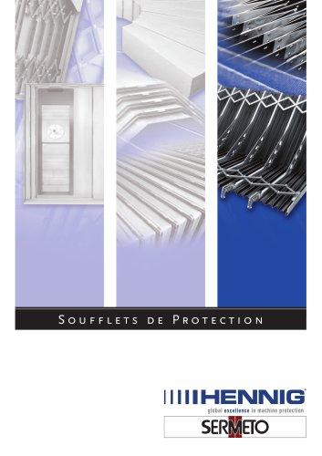Soufflets de protection