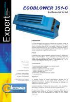 Soufflerie d'air ionisé ECOBLOWER 350-C