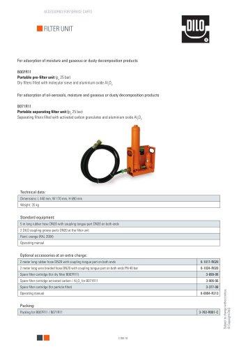 Filter unit B007R11 / B071R11