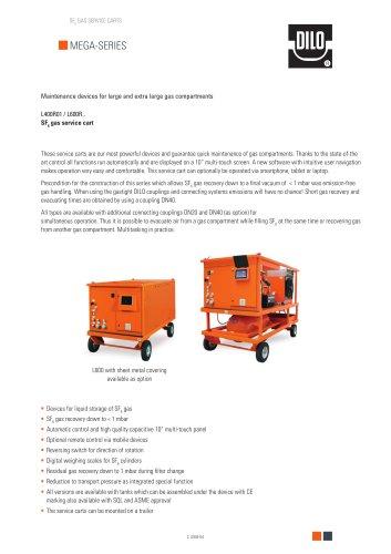 Mega Series L400R01 / L600R..