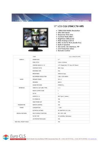 CLS-1704CCTV-HPS