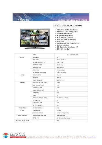 CLS-3204CCTV-HPS