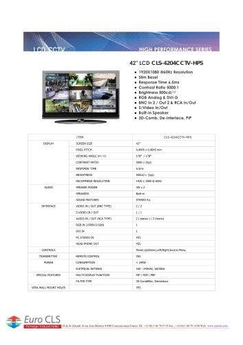 CLS-4204CCTV-HPS