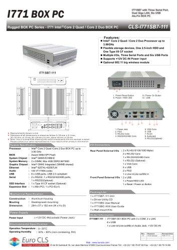 CLS-I771SB7-111