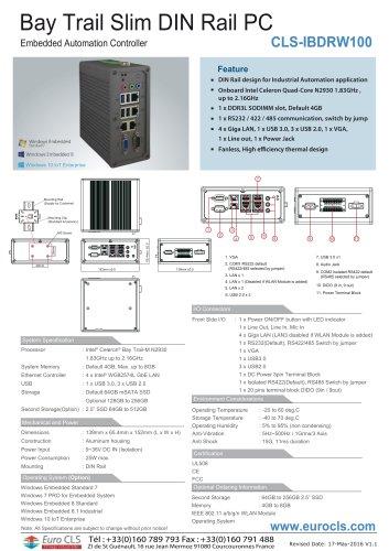 CLS-IBDRW100