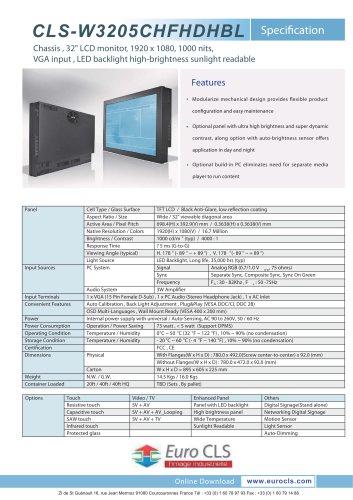 CLS-W3205CHFHDHBL