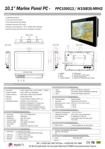 PPC100013 / W10IB3S-MRH2