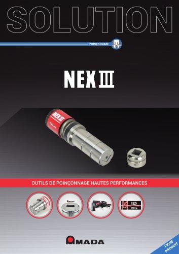 NEX III Outils de poinçonnage hautes performances