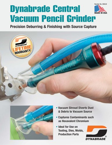 Central Vacuum Pencil Grinder from Dynabrade