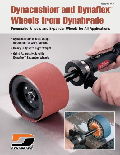 Dynacushion® and Dynaflex Wheels from Dynabrade