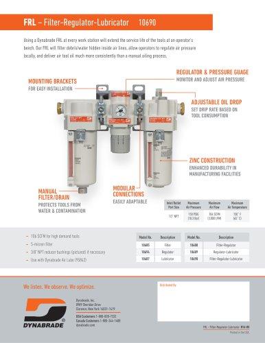 FRL – Filter-Regulator-Lubricator 10690