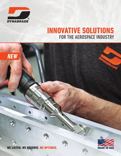 INNOVATIVE SOLUTIONS FOR THE AEROSPACE INDUSTRY