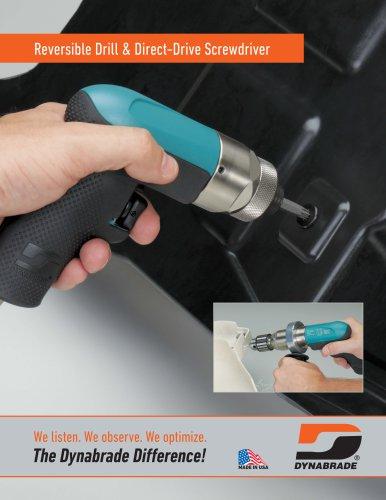 Reversible Drill & Direct-Drive Screwdriver