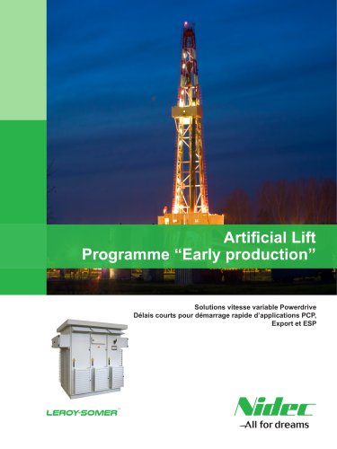 "Artificial Lift Programme ""Early production"""