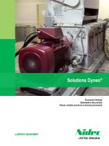 Solutions Dyneo®: Vitesse variable synchrone à aimants permanents