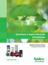 Solutions à haute efficacité énergétique