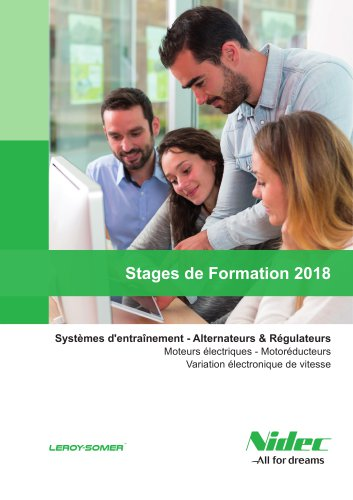 Stages de Formation 2018
