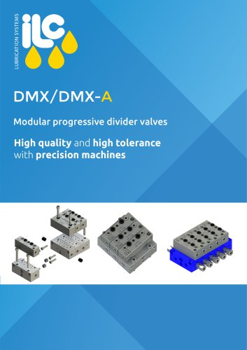 DMX Modular Progressive Divider Valves Catalogue