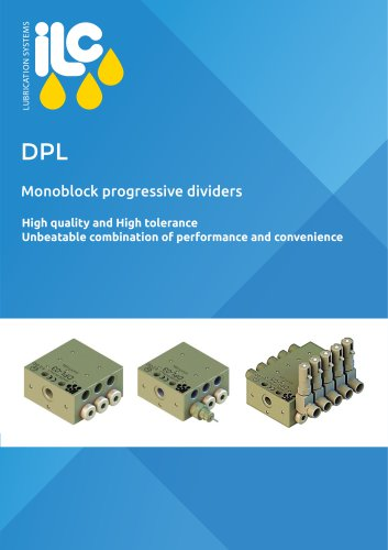 DPL Monoblock Progressive Dividers Catalogue