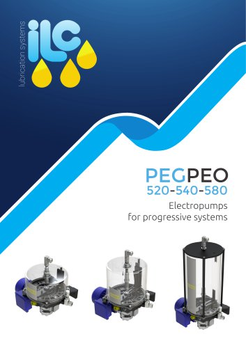 Grease And Oil Electric Pumps PEG-PEO 520-540-580 Catalogue