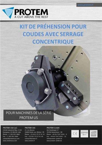Kit de Préhension pour coudes avec serrage concentrique - US Series