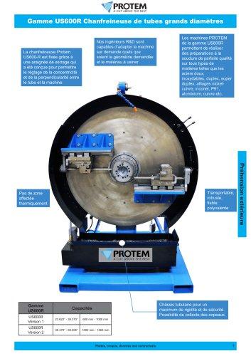Machines À Chanfreiner À Préhension Intérieure - US600R