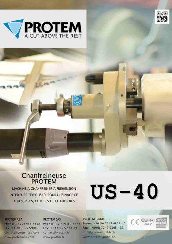 PROTEM - US40 - Chanfreineuse